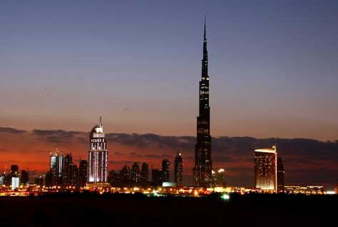 The Burj Khalifa is one of Dubai's best tourist attractions.