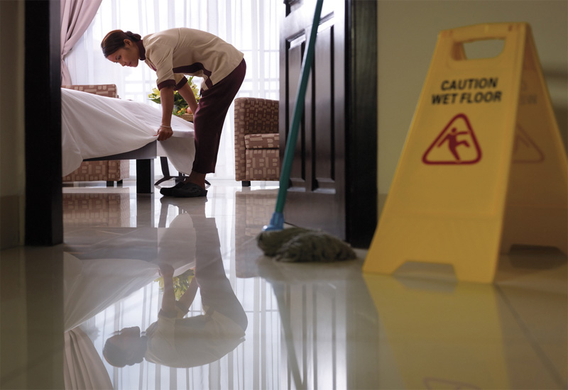According to Naser Mohamed, most people do not realise how challenging a housekeeper's job is.