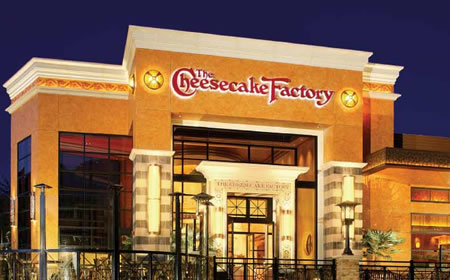 Restaurants, Cheesecake factory