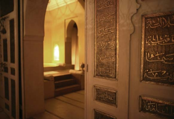 Cultural decorative elements such as calligraphy have been employed throughout Riad Ana Yela