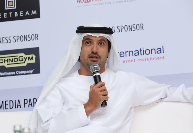Department of Tourism and Commerce Marketing director general His Excellency Helal Saeed Almarri