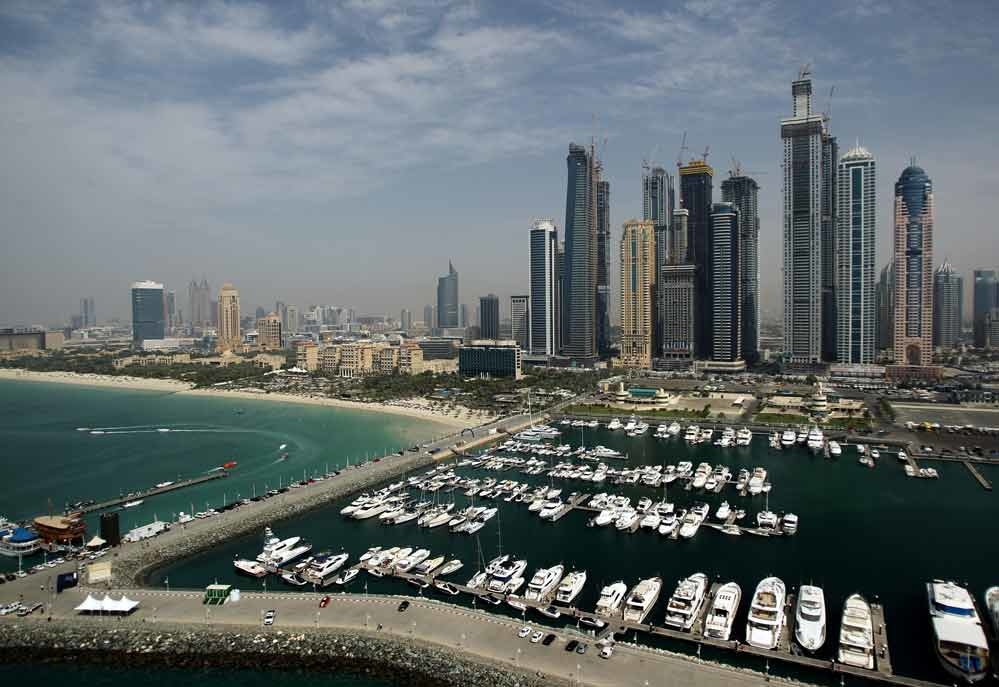 The 43-year-old Swiss hotelier, NL, in Dubai Marina and found a plastic bag containing 0.74 grams of cocaine in his possession.