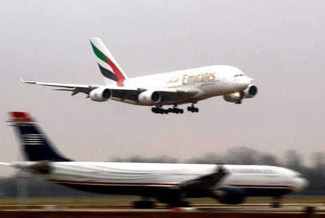 Travel, Emirates airline