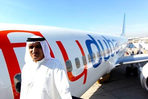 Flydubai chief executive officer Ghaith al-Ghaith