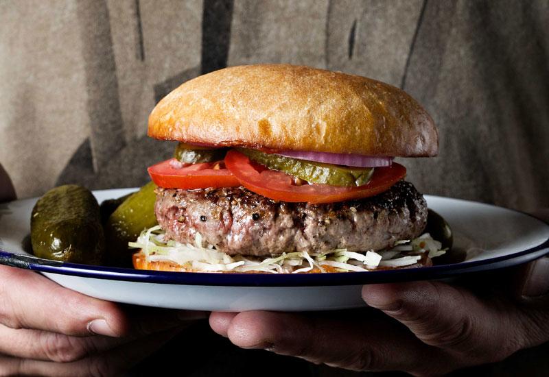 DIG INTO: 200g Angus rump burger.