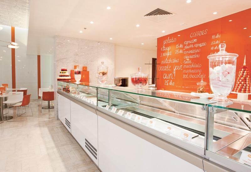 Gelato and ice cream shop Dolce