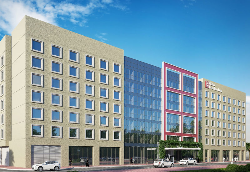 How Hilton Garden Inn Mall of the Emirates will look