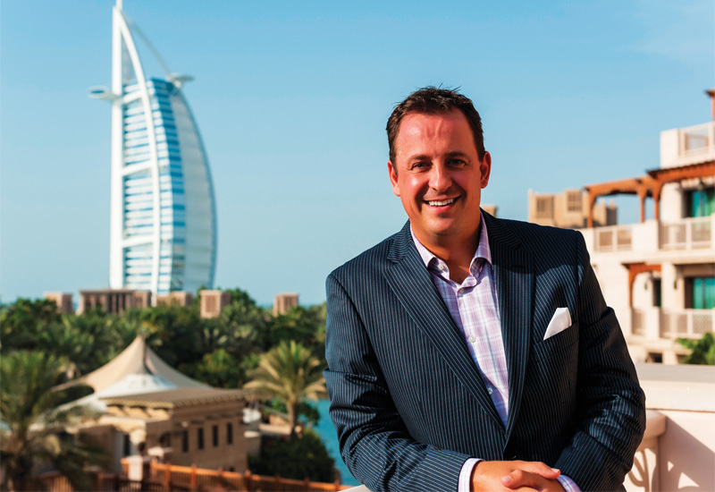 Jumeirah regional VP sales and marketing Christian Pertl.
