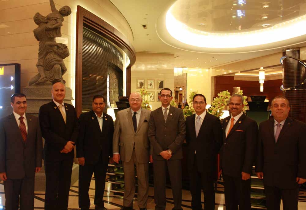 Grand Millennium Dubai chief concierge Khaled Kassem was congratulated for his induction into Les Clef d'Or UAE at a special ceremony.