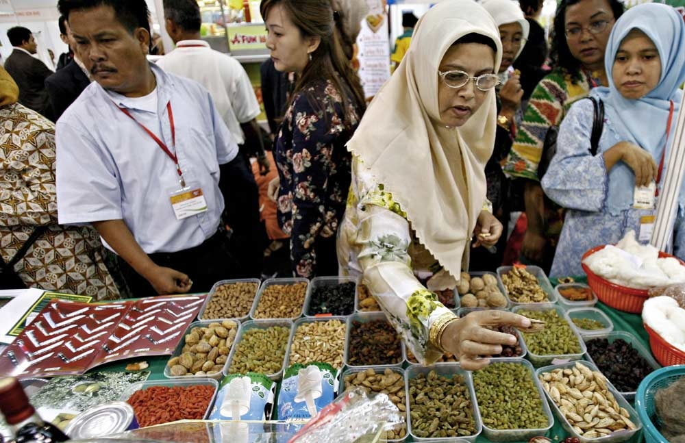 Halal food needs to be certified by approved institutions.