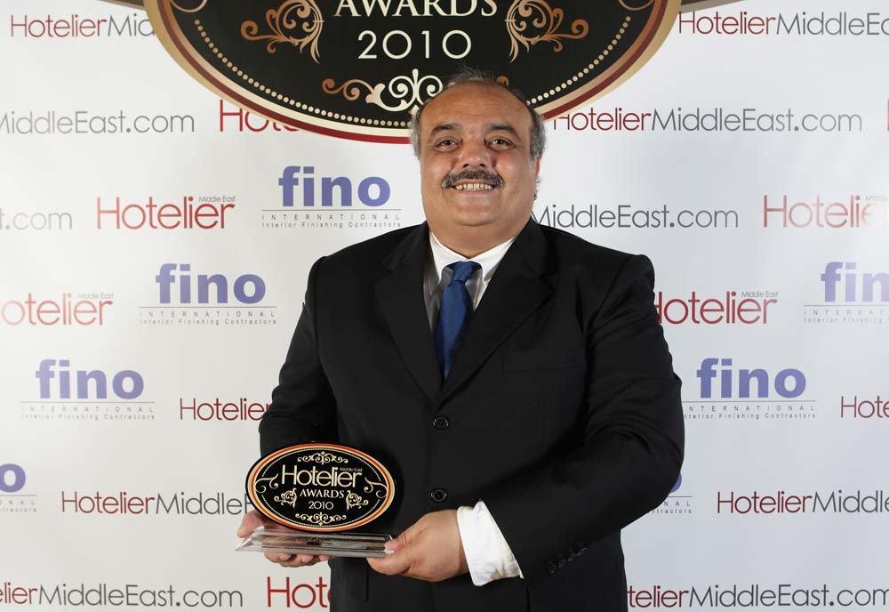Sakher Al Karmi from Southern Sun Al Manzil and Qamardeen Hotels bagged the Hotel Engineering Person of the Year 2010
