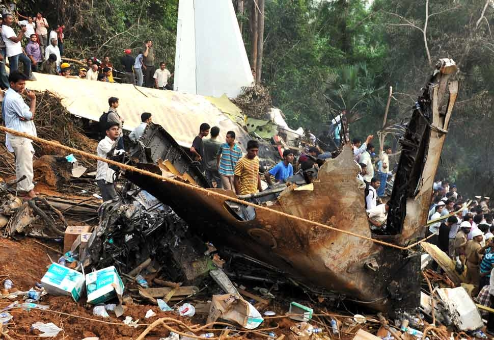 Reports said the survivors had managed to get free from the wreckage before it went up in flames [Getty Images].