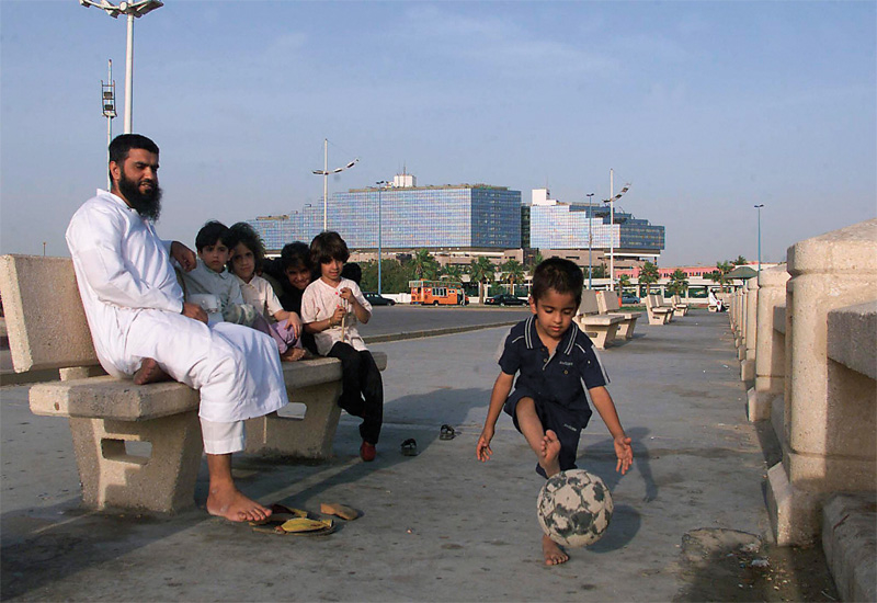 A number of family-friendly attractions have been developed on the Jeddah corniche.