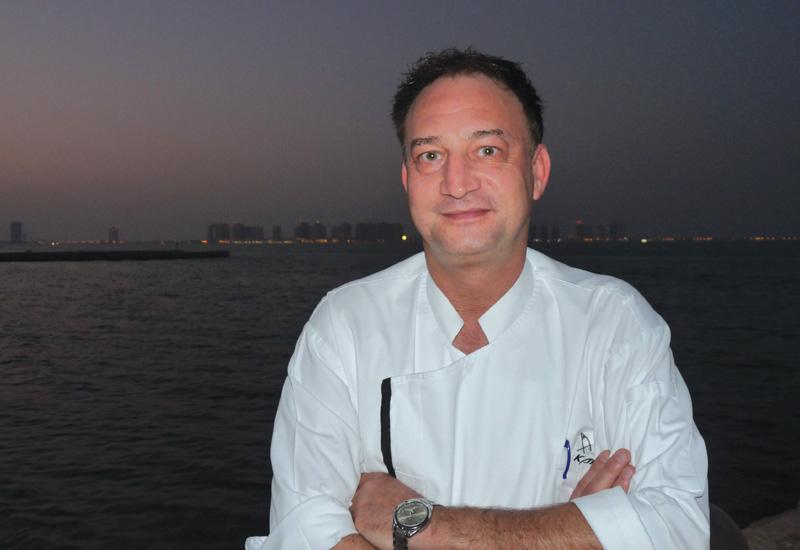 Karim Aghai, executive chef, Trader Vic's, Hilton Doha.