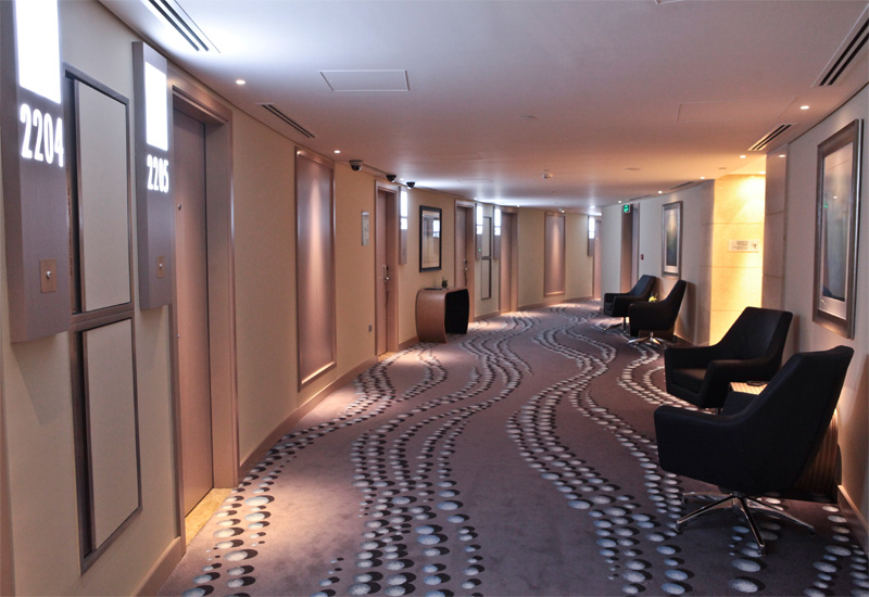 Renovations of the tower's 200 rooms began in 2011 and were completed in three phases.