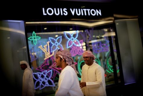 LVMH is part owned by Qatar.