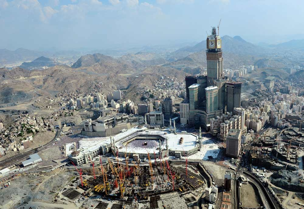 A record 17,920 real estate deals were finalised in Makkah in 2013, four times the rate in 2012.