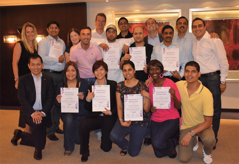 Media One Hotel's 12 week employee empowerment course.