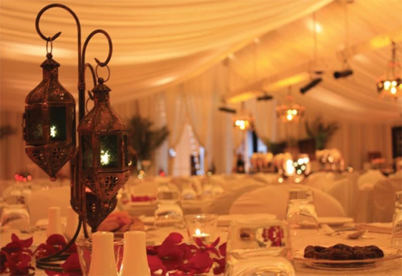 The Ramadan Tent, Park Hyatt Dubai.