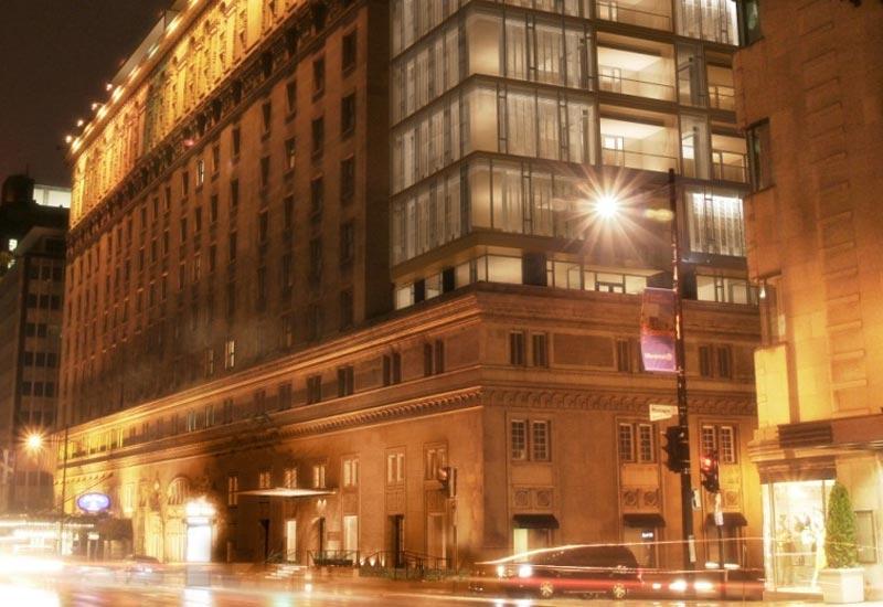 Facade of the Ritz Carlton Montreal