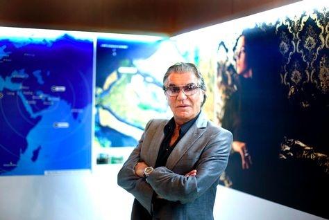 Italian designer Roberto Cavalli