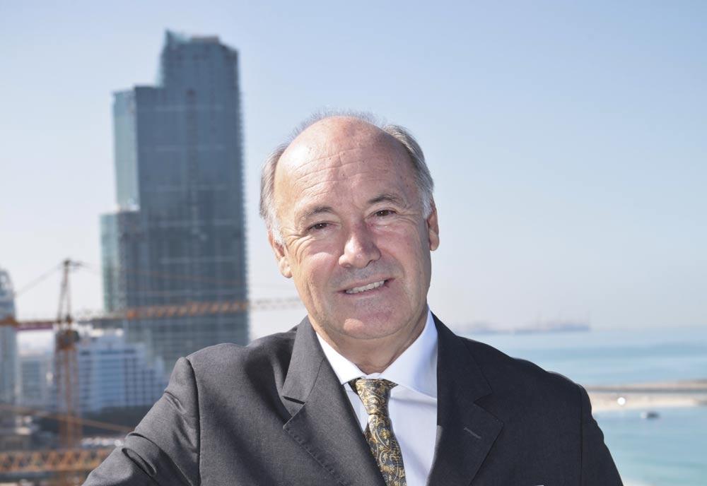 Hilton Worldwide MEA president Rudi Jagersbacher.