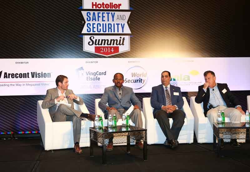 Panelists at the Safety and Security Summit.