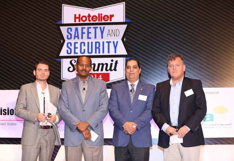 Panellists at the Safety and Security Summit.