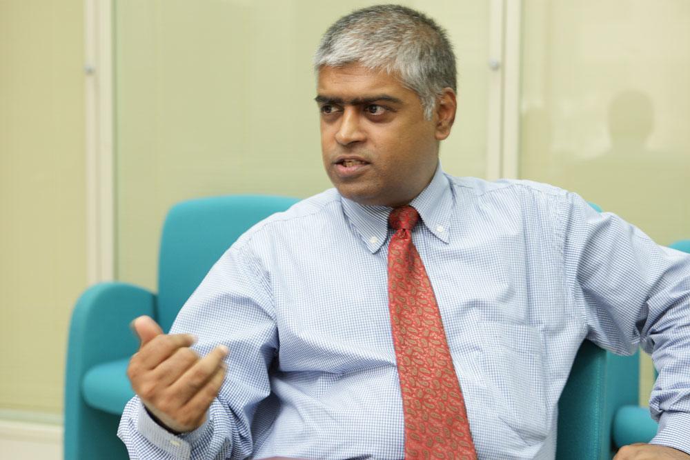V.Jayaram, managing director, Sharaf Travel