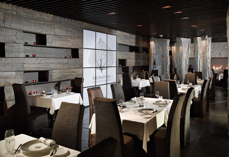 Signature by Sanjeev Kapoor is a fine-dining Indian restaurant in Melia, Dubai.