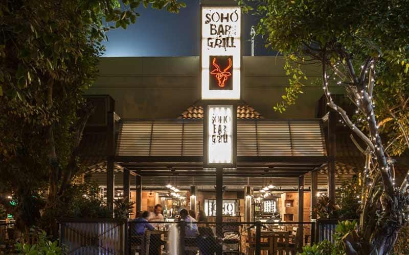 The original SoHo Bar & Grill in Century Village, Al Garhoud.