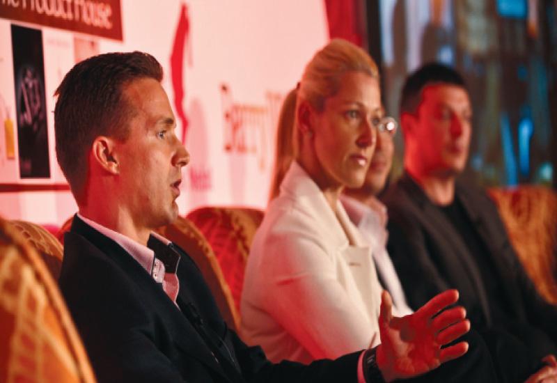 St. Regis Abu Dhabi' s Christian Kiefer; Hilton Worldwide's Sharon Barcock; Sofitel's Michael Monsod and Niyama By Per Aquum's Jason Sloan discuss 'speaking the language of spa and business' at the debate.