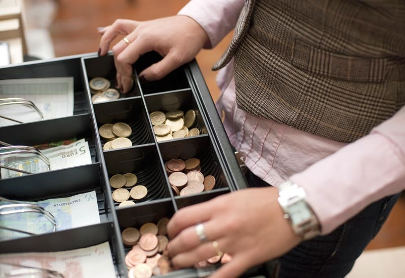 8% of respondents admitted they had taken money from a till in the past