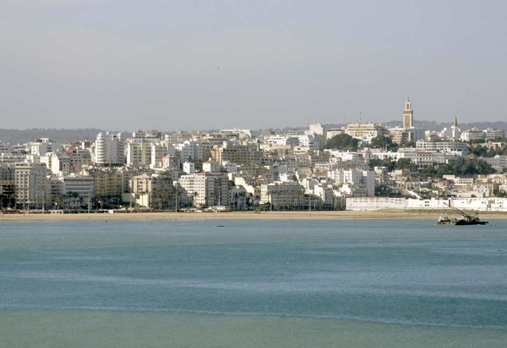 A view of the northern Moroccan city of Tangier