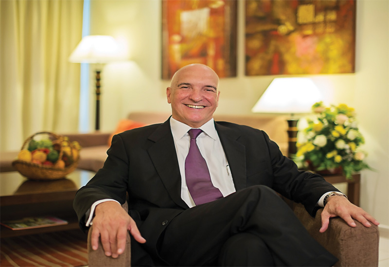 Michel Noblet, president and CEO, HMH ? Hospitality Management Holdings.