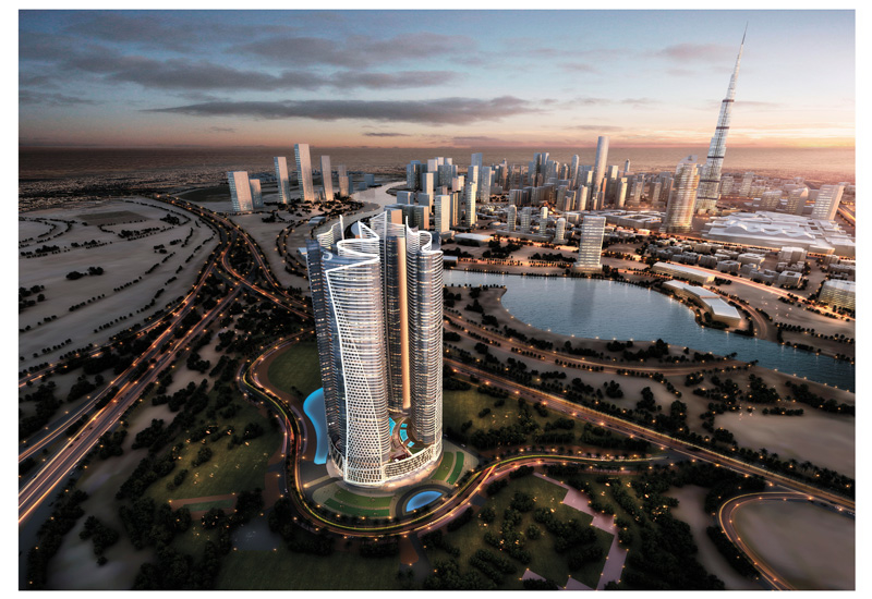 Damac Towers By Paramount Dubai is expected to launch in late 2015.