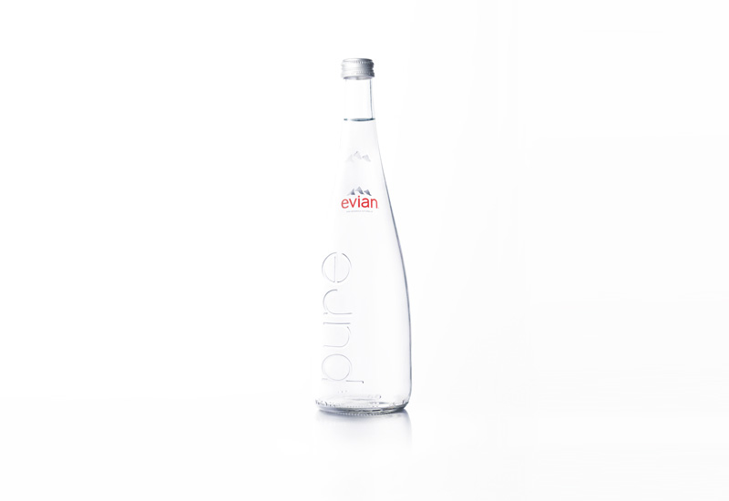 6 Glass bottled water.