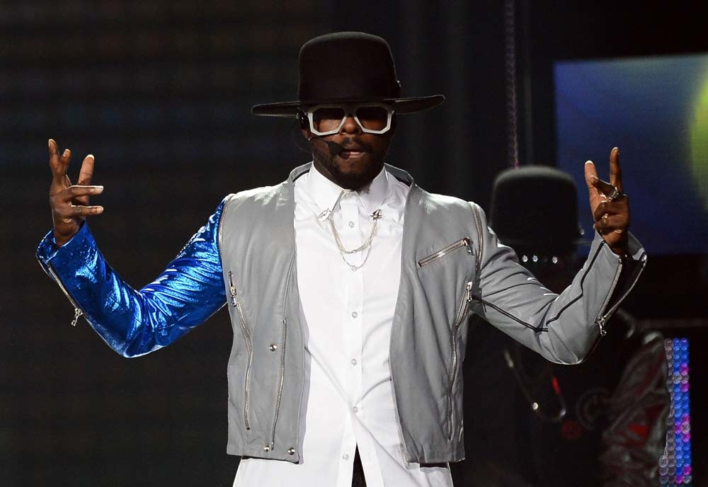 The Black Eyed Peas' front man will.i.am will perform in Dubai this September. (Getty Images)