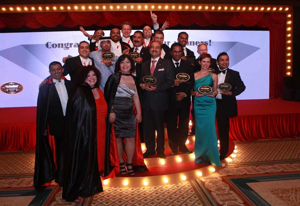 The winners of the Hotelier Middle East Awards 2012.