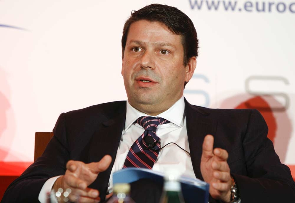 Yannis Anagnostakis, area general manager, IHG Dubai Festival City speaking on the 'emerging trends' panel at the 2012 Great GM Debate