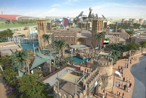 Leisure, Attractions, Yas waterworld