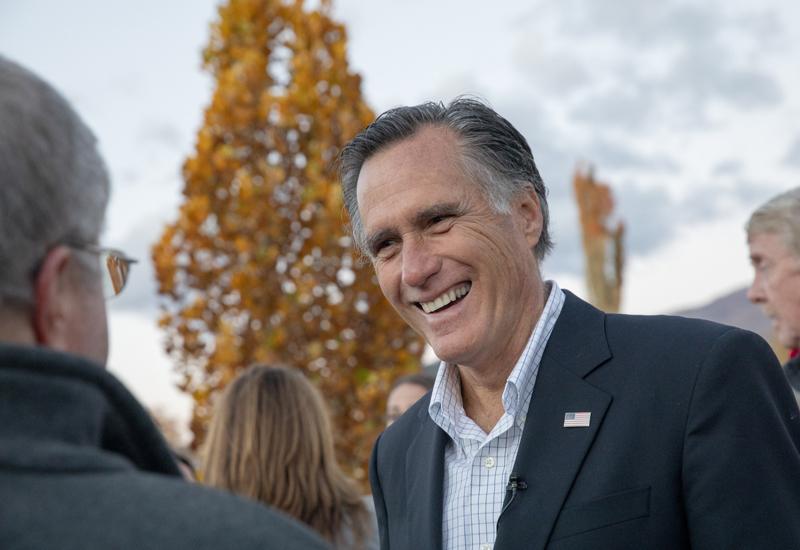Mitt Romney. Image credit: Bloomberg