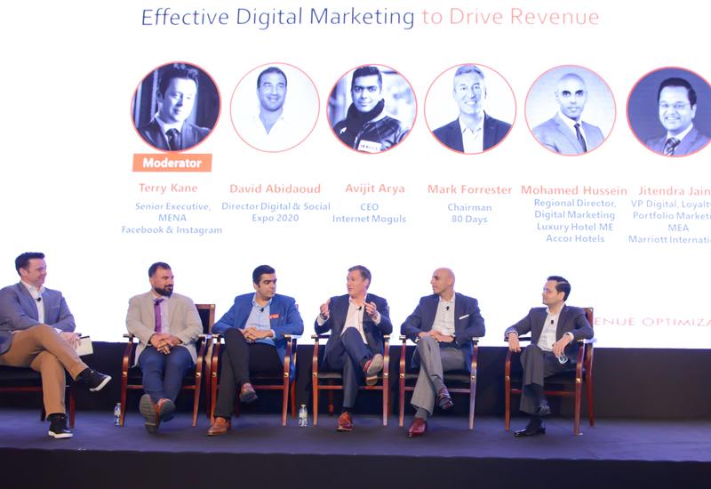 Panel on effective digital marketing.