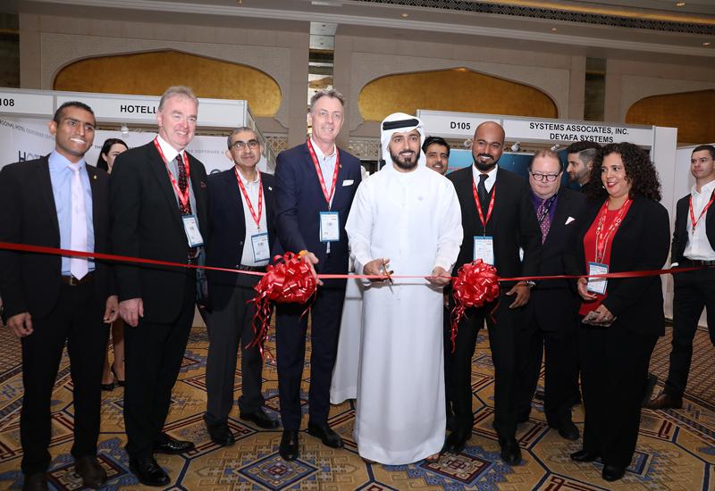 DTCM CEO Issam Kazim inaugurates HITEC 2018.