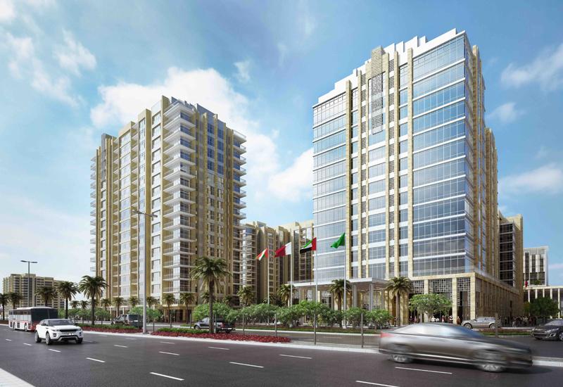 Wyndham Deira Waterfront rendering.