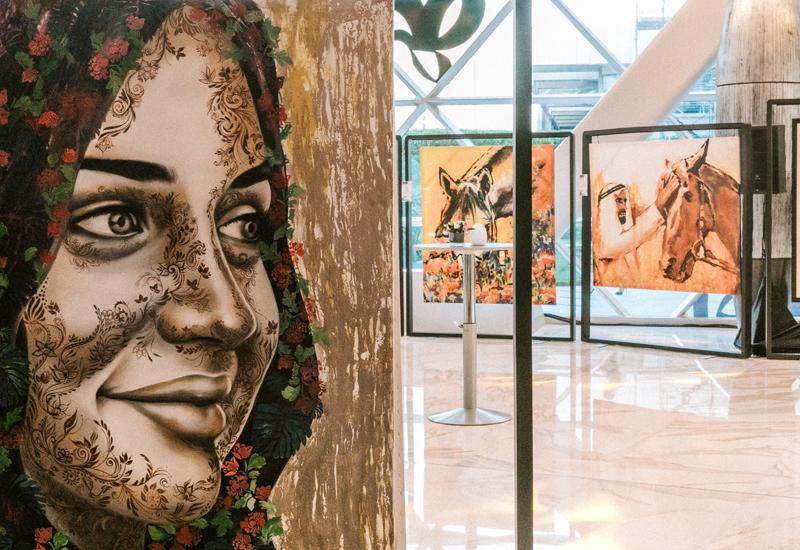 Abu dhabi hotel, Exhibitions, Andaz Capital Gate Abu Dhabi
