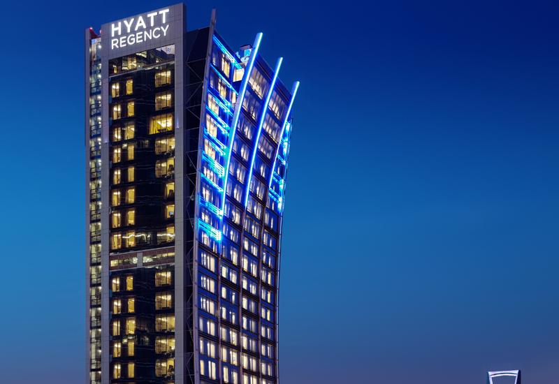 Hyatt Regency in Saudi Arabia.