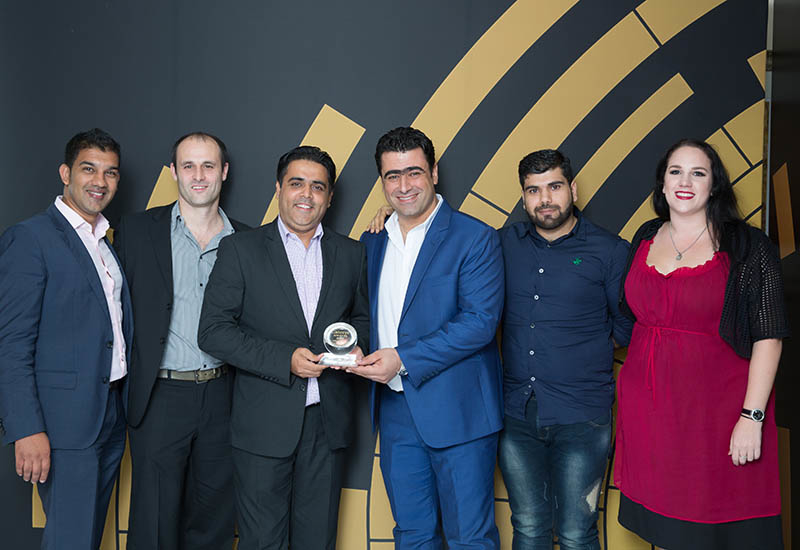 2018'S Restaurant Team of the Year - Hotel-Managed Outlet: Amaseena at The Ritz-Carlton, Dubai