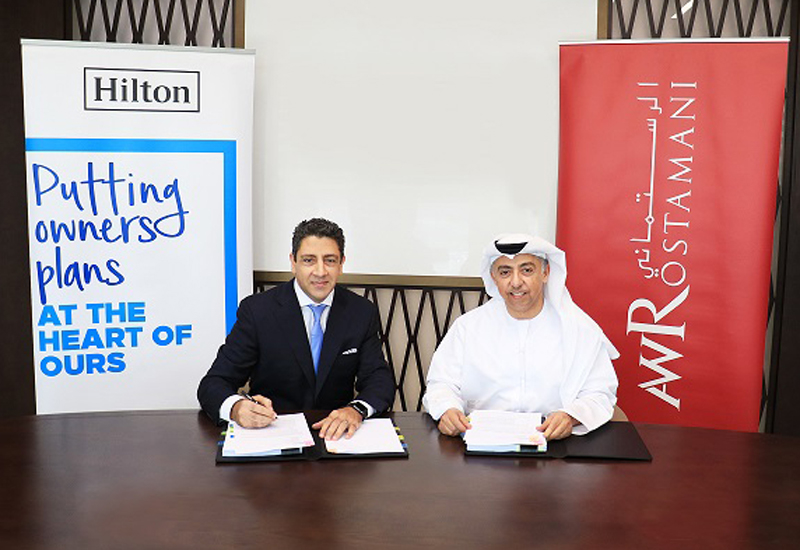 Operators, Agreement, Aw rostamani group, Construction, Dubai hotel, Hilton hotels, New hotels dubai