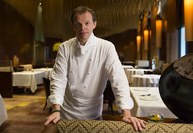 Richard Ekkebus, culinary director at The Landmark Mandarin Oriental, Hong Kong